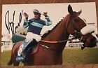 Signed Davy Russell 12x8 Photograph Diamond King Cheltenham 2016 Coral Cup