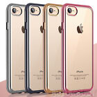 Luxury Silicone Crystal Clear Case Rubber Shockproof for Apple iPhone 8 7 Plus