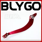 RED 340mm CNC Heavy Duty Foot Brake Pedal Lever 125cc 150cc PIT PRO Dirt Bike