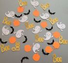 Halloween Confetti Punchies Die Cuts 40 Pieces Handmade With Card Stock