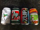 7UP  Cans 4 units - Vintage Edition  From PORTUGAL 2015