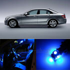 19X Blue Canbus for Mercrdes Benz C Class W204 Interior LED Light Kit 2008-2013