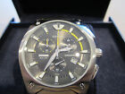 Festina Brushed Stainless Steel Mens Chronograph