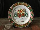 MARY ENGELBREIT CHRISTMAS/WINTER HOME SWEET HOME PLATE 2000 MINT!
