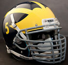 CUSTOM MICHIGAN WOLVERINES Schutt AiR XP REPLICA Football Helmet BIG GRILL