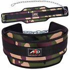 ARD CHAMPS Neoprene Weight Lifting Dipping Belt Exercise Fitness Green Camo