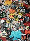 75 Randomly Picked Iron On Patches Surprise Grab Bag Free USA Shipping