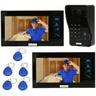 KKMOON 7TFT LCD Touch Monitor Video Door phone Intercom System Security EU T2W8
