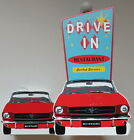Ford Mustang Paper Towel Holder Napkin Holder Set Movie Drive In Theme Boss