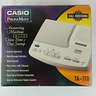 New - Casio PhoneMate TA-110 Answering Machine: NOS Vintage 90's