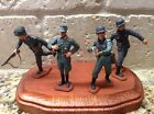 Toy Soldiers 4 Plastic Marx 54mm WWII Germans
