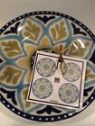 222Fifth Santiago  Set Of 4 New Appetizer / Dessert / Bread Plates