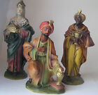 Vintage Japanese Nativity Set Large Some 13 Tall 8 Pieces