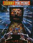 1995 WILLIAMS JOHNNY MNEMONIC PINBALL FLYER