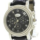 Parmigiani Fleurier Toric Platinum Chronograph Date 40mm PF006783 Black Watch