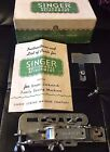 Vtg 1941 Silver Singer Sewing Mach Buttonhole Attachment 121795 Box Instructions