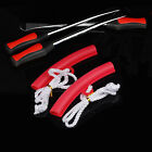 3x Tire Lever Tool Spoon Motorcycle Tire Iron Changing 2x Wheel Rim Protectors