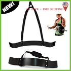 NEW Heavy Duty Gym Arm Isolator Blaster Body Building Curl Triceps Bar US STOCK