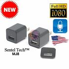 1080p HD Hidden Spy Camera USB Phone Charger with Audio Home Surveillance MJ8