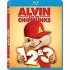 Alvin and the Chipmunks 1, 2 & 3 Blu-ray New