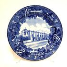 SAN GABRIEL MISSION PLATE WEDGWOOD BLUE & WHITE PLATE California