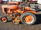1939 Allis Chalmers B with 54 Woods Belly Mower