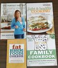 Diet Cookbooks biggest loser light and healthy fat burning lot of 4