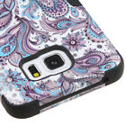 Samsung GALAXY Note 5 HYBRID ShockProof Hard Rubber Protective Case Cover Flower