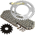Drive Chain & Sprockets Kit for Suzuki GSX-R600 GSXR600 2006-2010