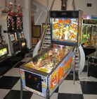 DR DUDE & HIS EXCELLENT RAY PINBALL MACHINE ~ GORGEOUS CONDITION & LED UPGRADED