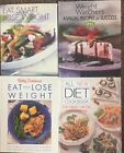 Dieting and Weight Loss COOKBOOKS Lot of 4 Betty Crocker Weight Watchers