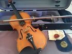 A Rare Gustave August Ficker Violin c.1960 with Certificate