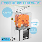 Commercial Electric Orange Squeezer Juice Juicer Press Stainless Lemon Citrus
