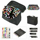 80 Color Set Touch Colorful Alcohol Art Twin Tip Marker Pen Paiting Animation
