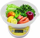 Weight Watchers Food Scale Digital Kitchen Compact Diet Electronic Weight W Bowl