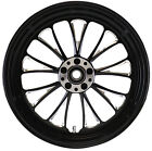 MANHATTAN REAR BLACK WHEEL 18 X 3.5 HARLEY ROAD GLIDE FLTR FLTRI 2002-2007