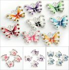 New Lots 5 10pcs Enamel Animal Butterfly Pendant Charms Jewelry Findings DIY