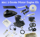 NEW MOTOR MOTORIZED CHOPPER BIKE BICYCLE GAS ENGINE 80CC SCOOTER MOPED KIT US HP