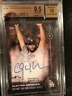 2016 Clayton Kershaw Auto - Playoffs - Topps Now 579B # 199 - DODGERS!!! BGS 9.5
