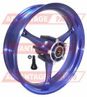 NEW 17 INCH SUZUKI GSXR 600 GSX R 600 FRONT RIM WHEEL HIGH GLOSS BLUE 2006 2007