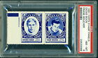 1960 61 TOPPS STAMP PANELS DICKIE BOON FRANK BOUCHER PSA 8 NM-MT