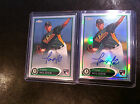 2012 Topps Chrome Baseball Autograph Rookie Variations Visual Guide 35