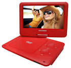 Sylvania 9-Inch Swivel Screen Portable DVD/CD/MP3 Player with 5 Hour Built-In Re