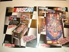 2 ORIGINAL STERN NASCAR PINBALL MACHINE BROCHURE  FLYERS