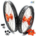 21 /18 CUSH DRIVE WHEEL FIT KTM 690 ENDURO R 08-17 KTM690 SMC 08-11 RIM SET