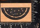 Rubber Stampede Wood Mounted Rubber Stamp watermelon
