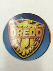 Judge DREDD Bally Midway Circle 1993 Promotional Plastics Key chain KeyChain NOS