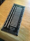 White Ace Postage Stamp Perforation Gauge Made In Usa