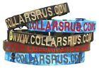 Personalized Webbing Dog Collars with 1 logo for Military Ships under 24 HRS