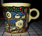 HOMER LAUGHLIN FIESTA® TOM & JERRY CHRISTMAS WINDOW MUG - PERFECT CONDITION